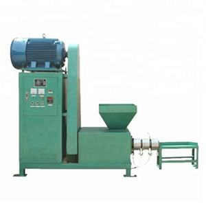 Waste paper and wood sawdust wheat straw biomass small briquette machine