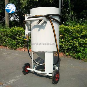 General Industrial Equipment Sandblaster High Pressure Cleaner / Special machine for surface sandbla