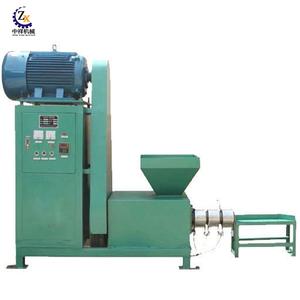 Economical biomass hydraulic press mini charcoal briquette machines