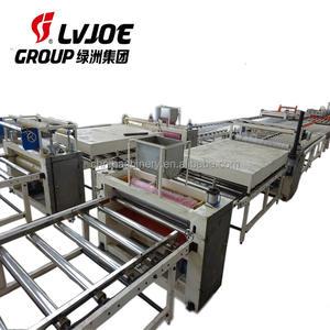 Full Automatic PVC Laminated Gypsum Ceiling Board Production Line / Machine / Plant / Equipment