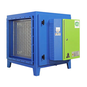 Gas Disposal Machinery restaurant kitchen exhaust smoke filter coffee roaster ESP electrostatic prec