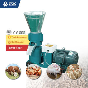 Wholesale Cattle Pig Chicken Animal Feed Making Machine Poultry Feed Processing Machines