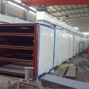 Industrial Conveyor Mesh Belt Dryer, Charcoal Coal Briquettes Drying Machine, Air Mesh Belt Dryer Fo