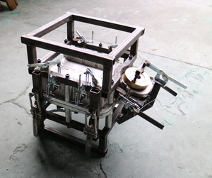 Fuel Oil Tank Aluminium Mould CNC Machining For Roto Moulded Agricultural Spraying Unmanned Aircraft