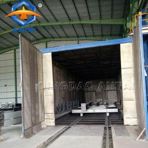full automatic sandblasting booth of ANTAI