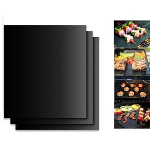 Heat-resistent fireproof charcoal bbq grill mat Non-stick BBQ grill mat baking mat