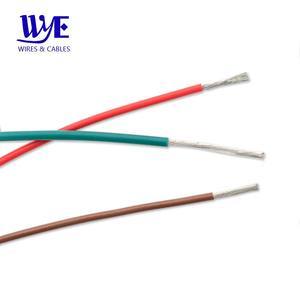 Free samples colors 1330/1331/1332/1333 FEP silicone rubber coated flexible electrical cable wire fo