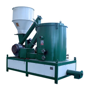Biomass pellet burner for heat source, hot water boilers and dryers