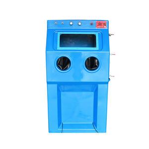 9070w Manual Liquid Sand Blasting Box Type Water Sander Manufacturer Environmental Protection Wet Sa