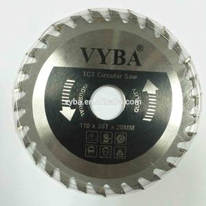 110mmx30z Power tools parts type tungsten carbide tip cutting disc for wood