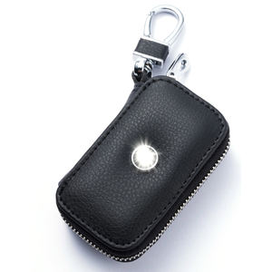 General Type Soft PU Leather Bag Holder Car Key Bag