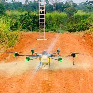 2021 big payload 20L 20kg complete agricultural sprayer fertilizer spraying spreader drone