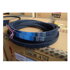 Cheap price agricultural machinery parts rubber belt for combine harvester