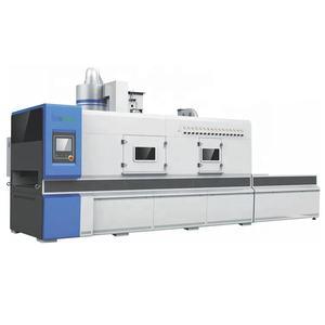 Profiled high efficiency sand blasting sander blasting sanding machine for curved wood