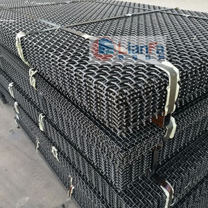 Factory inventory Carbon steel crimped wire mesh for mining