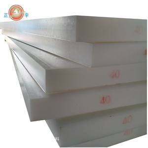 Hot-selling High Strength engineering plastic pom plates High wear-resistant pure white pom sheets p