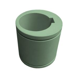 professional cnc machining turning milling custom service plastic LDPE/PP/PEEK parts sleeves/tube/wa