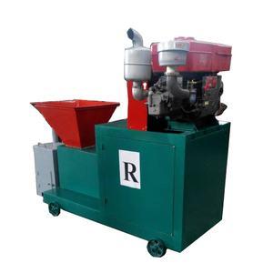 diesel engine sawdust straw biomass fuel briquette press making machine
