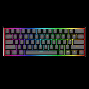 Popular Redragon K630 wired 61Keys RGB Backlit Computer Mechanical Gaming Keyboard Gamer Teclado