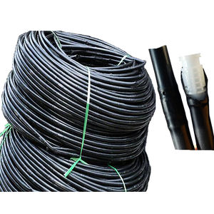 High quality LDPE drip irrigation pipe with emitters for drip irrigation system at agricultural farm