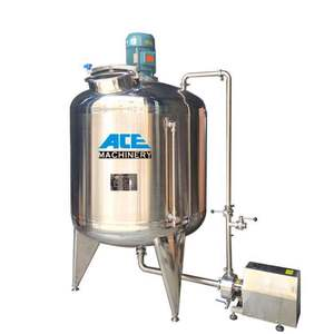 Factory Price 1000 Liters Industrial Tank Mixer And Liquid Application Stainless Steel Storage Tank