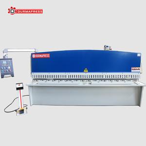 Factory price QC12Y hydraulic metal scrap shear machine applied to cutting aluminum plate