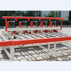 mini production insulation gypsum board lamination machine for pvc film cutting system