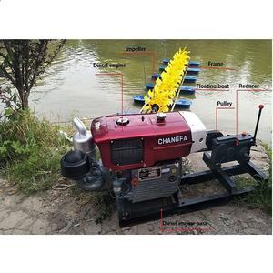 12 P Diesel engine aerator fish pond paddle wheel aerator aquaculture machine aerators