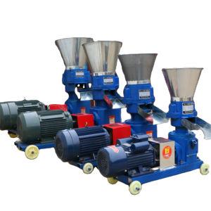 Mobile Small Sawdust pellet mill wood pellet machine animal feeds pellets making machine