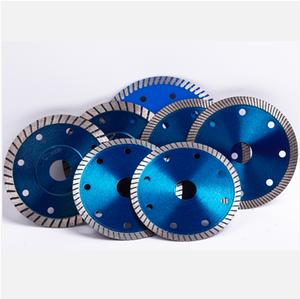 Diamond saw blade for cutting tiles and ceramics