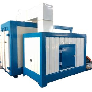 Natural Gas-Fired Infrared Heating System Powder Coating Curing Oven