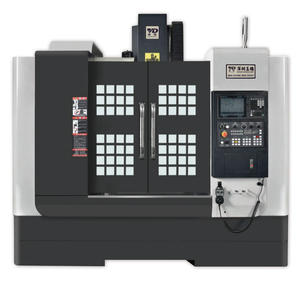 high precision long life Vertical CNC Milling machining Center For moulds fine Machining with FANUC