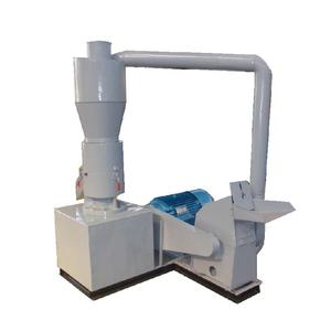 200-300kg/h Wood Sawdust Pellet Machine Combined Hammer Mill Wood Fuel Pellets Extruder All-In-One M