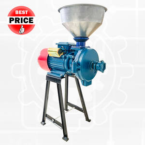 Grinder Machine Flour Mill Flour Mill Grinder Hammer Mill Gold Crusher Feed Processing Machines Poul
