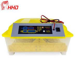HHD battery power 12V fully automatic 56 eggs commercial incubators for hatching poultry