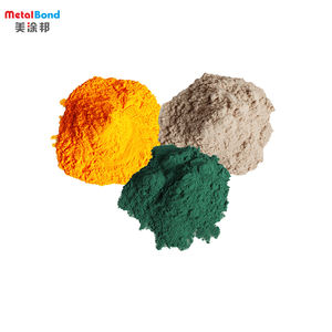 High Quality Environmental Protection Pure Epoxy Rosegold Powder Coating Paint