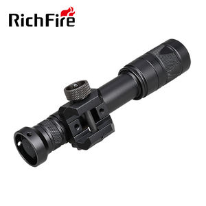 RichFire M600DF Dual Fuel Scout LED WML Weapon Mounted Light with Z68 Switch and Thumbscrew Mount 15
