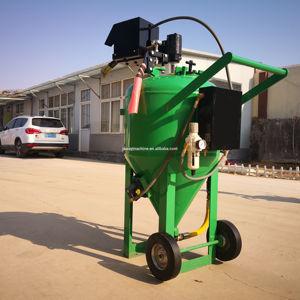 Dustless blaster environmentally friendly sandblasting water blaster DB225 db500 db800 industry clea