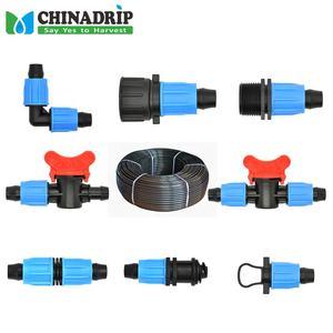 PE material drip irrigation pipe ldpe tube