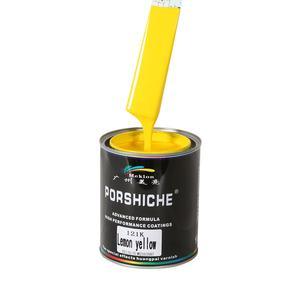 Meklon 1K Solid Color Low Voc Car Paints for Refinish with Car Paint Spectrophotometer