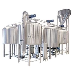 Tiantai 3000L 30HL Steam Heated Three Vessel Commercial Brewery Beer Brewing Equipment