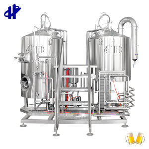 Small Micro Beer Brewing Equipment China 500l 5bbl 7BBL Turnkey Project of Brewery