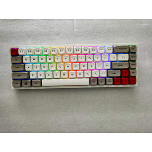 High-end PBT keycap 68 keys RGB backlit programmable hot swappable switches wired/wireless mechanica