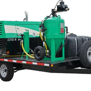 Environmentally friendly blasting sandblaster sand blasting machine sandblasting machine mobile Dust