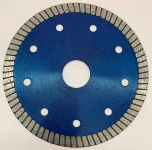 Diamond turbo saw blade for cutting tiles and ceramics TPGGUT