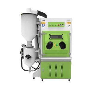 Environmentally friendly and dry manual box sandblasting machine high pressure sandblast cabinet