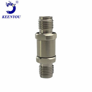 Ember high-frequency millimeter-wave rf coaxial adapter 2.92mm- Female to Female SUS303 DC - 40GHz V