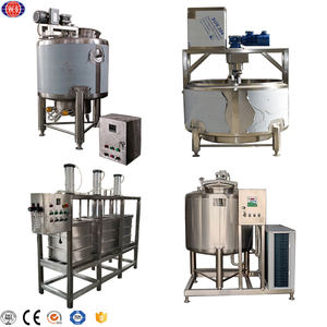 Wet cheese processing machine electric heating cheese vat