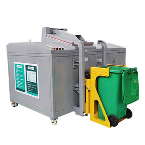 Best Selling ISO Certificated Auto Feeding Food Waste Composting Grinder