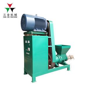 Manual mini extruder briquette machine and waste paper charcoal making machine